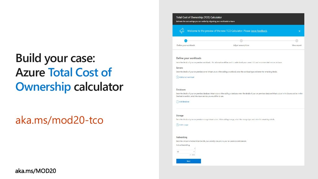 Build your case: Azure Total Cost of Ownership ...