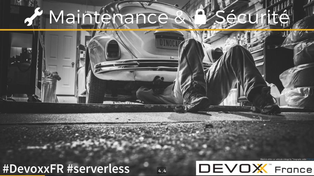 Maintenance & Sécurité Black & white car vehicu...