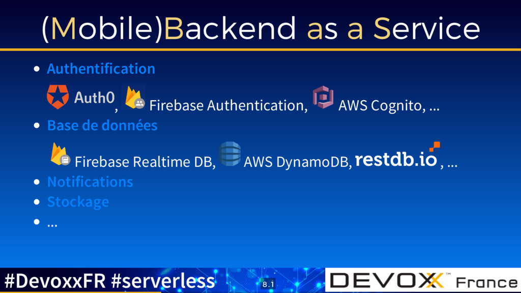 (Mobile)Backend as a Service Authentification ,...
