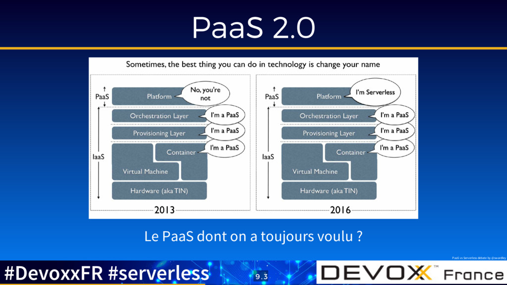 PaaS 2.0 Le PaaS dont on a toujours voulu ? Paa...