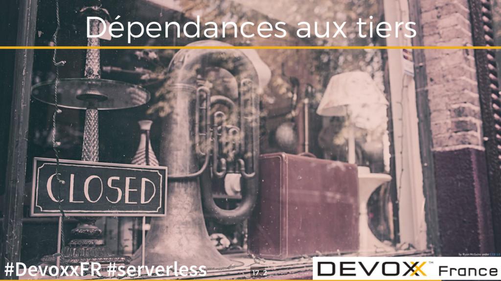Dépendances aux tiers by Ryan McGuire under CC0...
