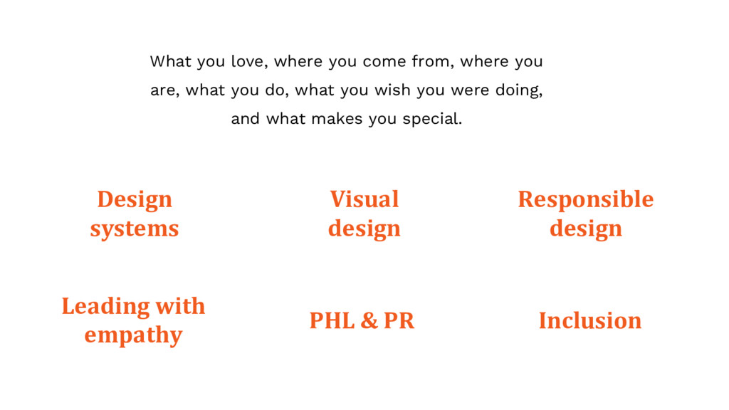 Design systems What you love, where you come fr...