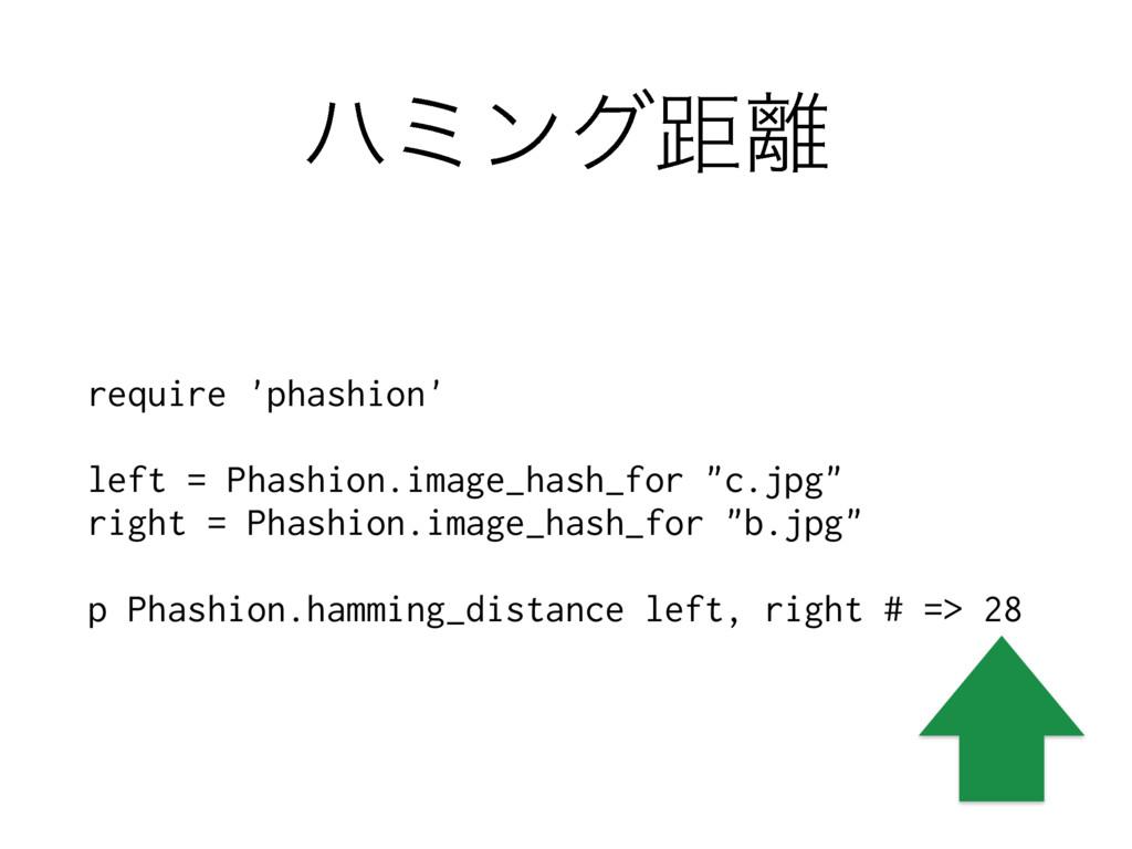 ϋϛϯάڑ require 'phashion' left = Phashion.image...