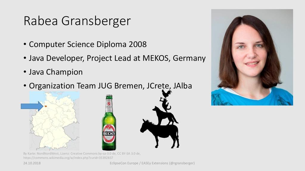 Rabea Gransberger • Computer Science Diploma 20...