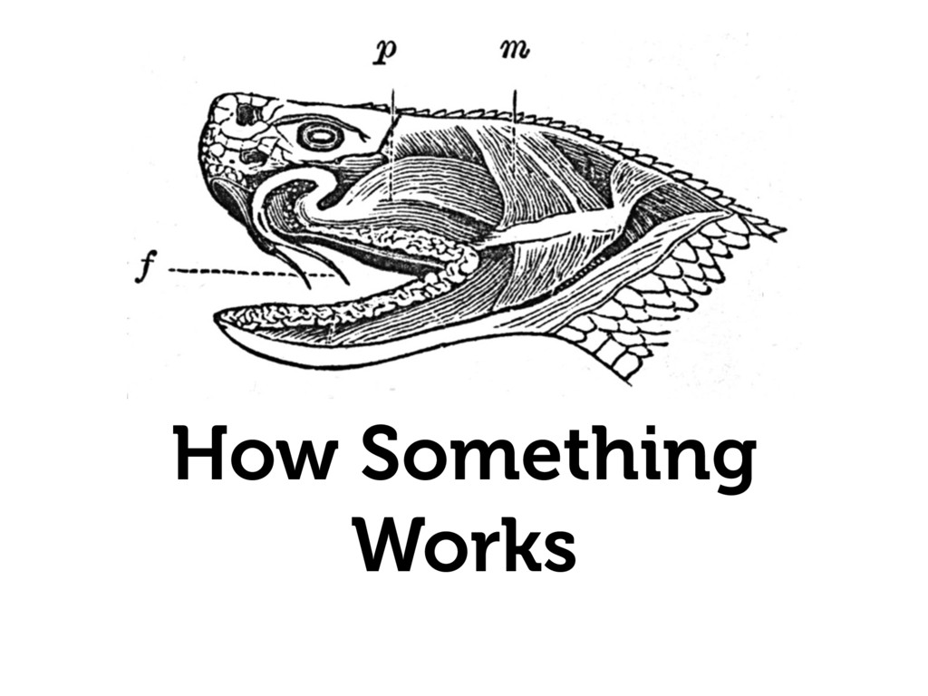 How Something Works