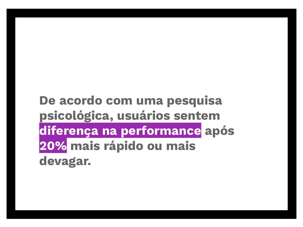 De acordo com uma pesquisa psicológica, usuário...