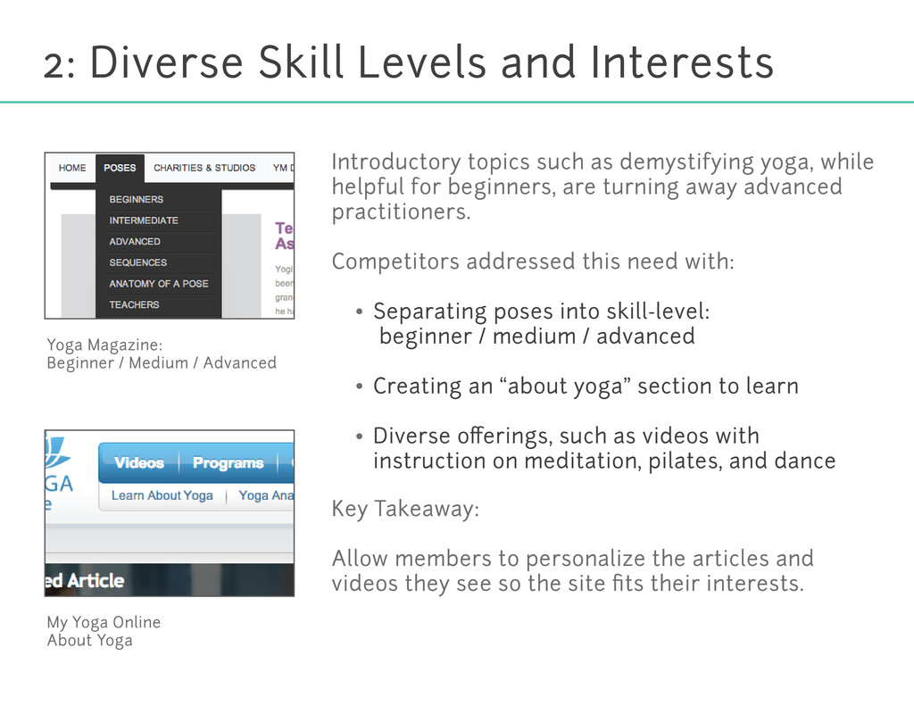 2: Diverse Skill Levels and Interests Yoga Maga...