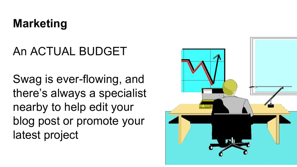 Marketing An ACTUAL BUDGET Swag is ever-flowing...