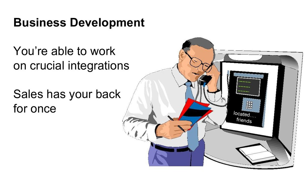 Business Development You're able to work on cru...