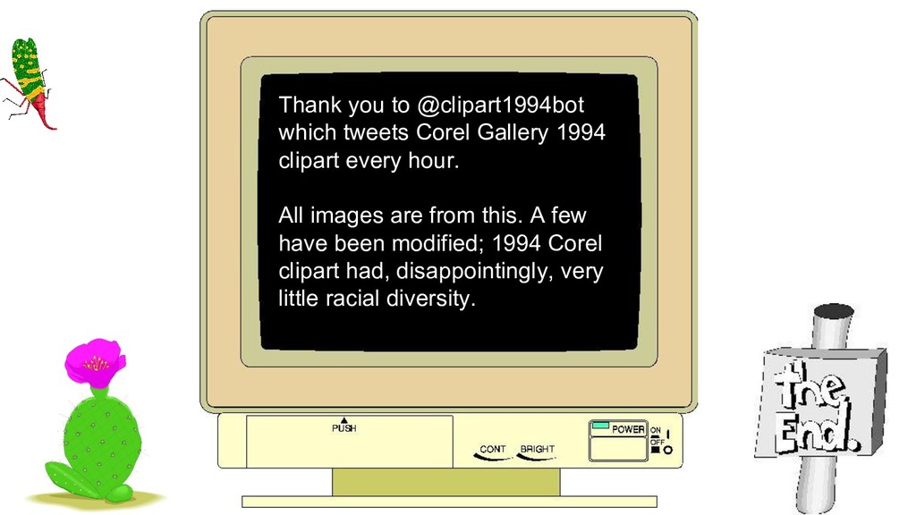 Thank you to @clipart1994bot which tweets Corel...