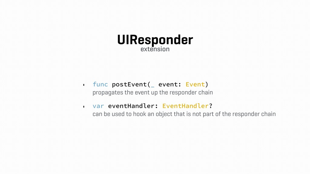 UIResponder
