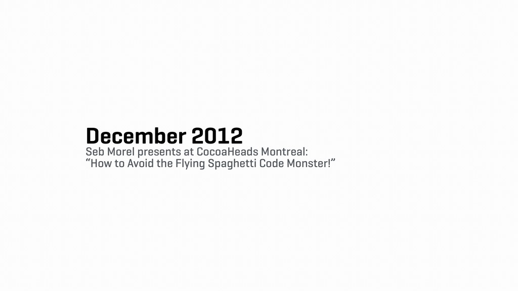 December 2012