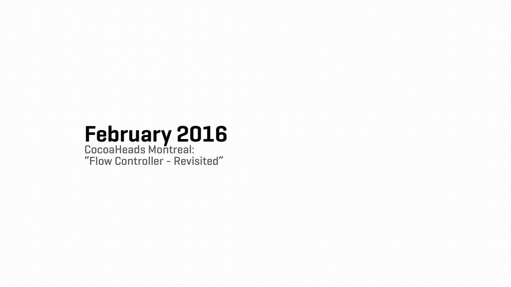 February 2016