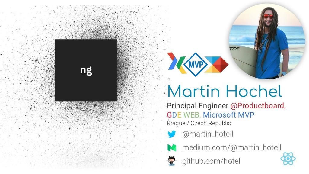 Martin Hochel Principal Engineer @Productboard,...