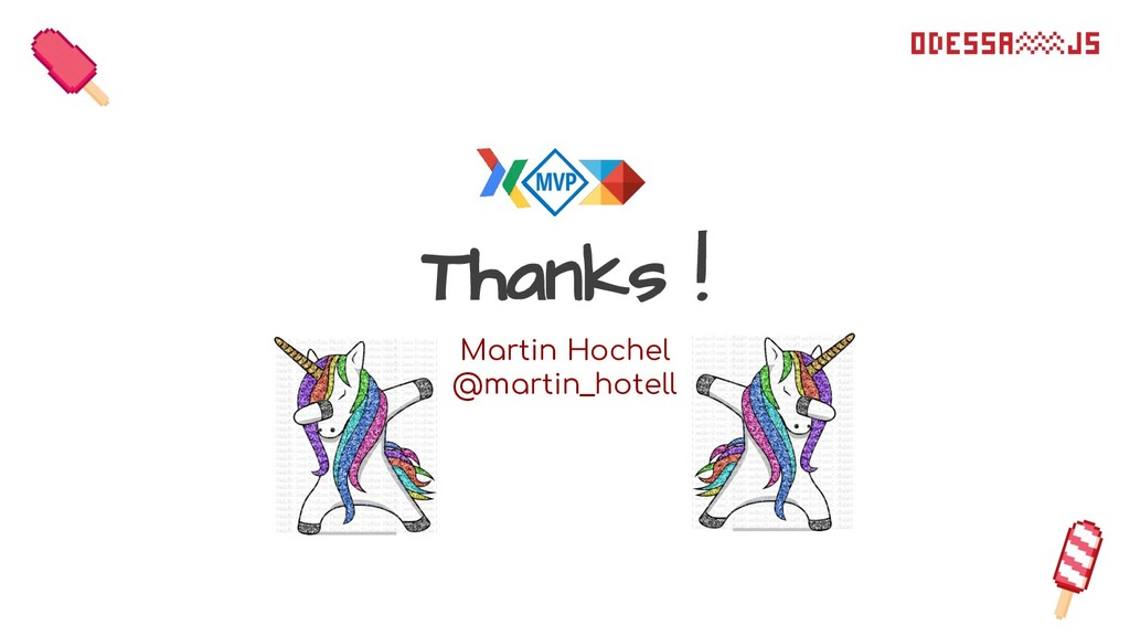 Thanks ! Martin Hochel @martin_hotell