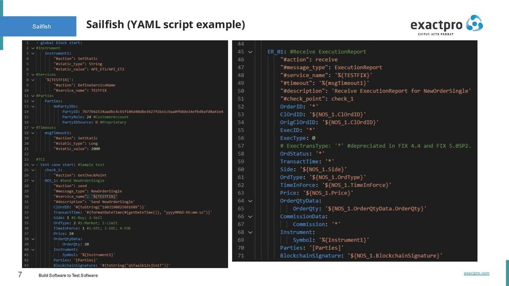 7 Build Software to Test Software exactpro.com ...