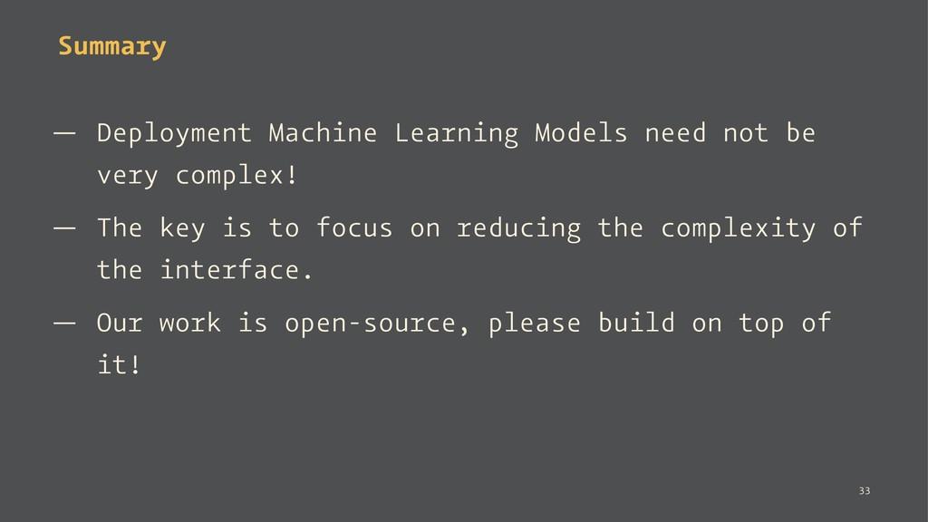 Summary — Deployment Machine Learning Models ne...