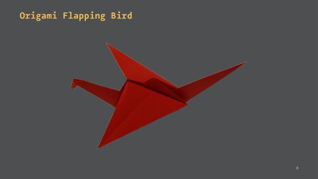 Origami Flapping Bird 8