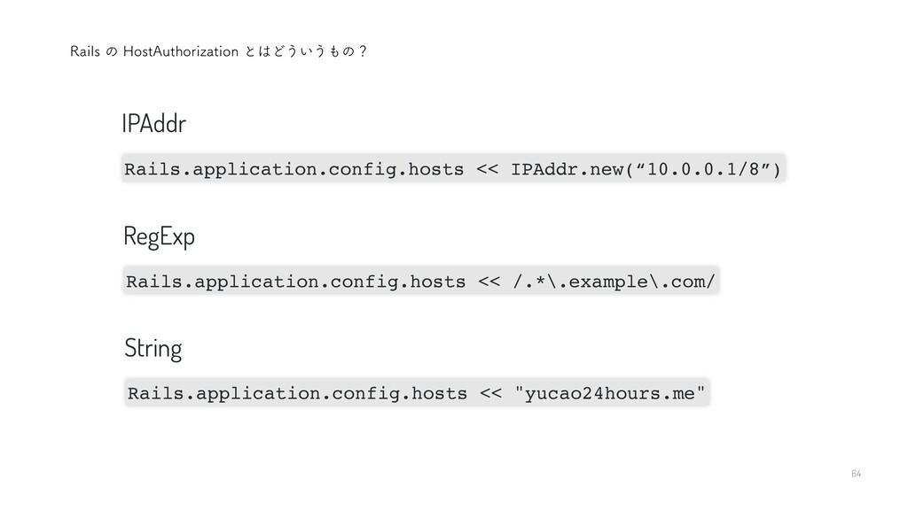 """64 3BJMTͷ)PTU""""VUIPSJ[BUJPOͱͲ͏͍͏ͷʁ Rails.ap..."""