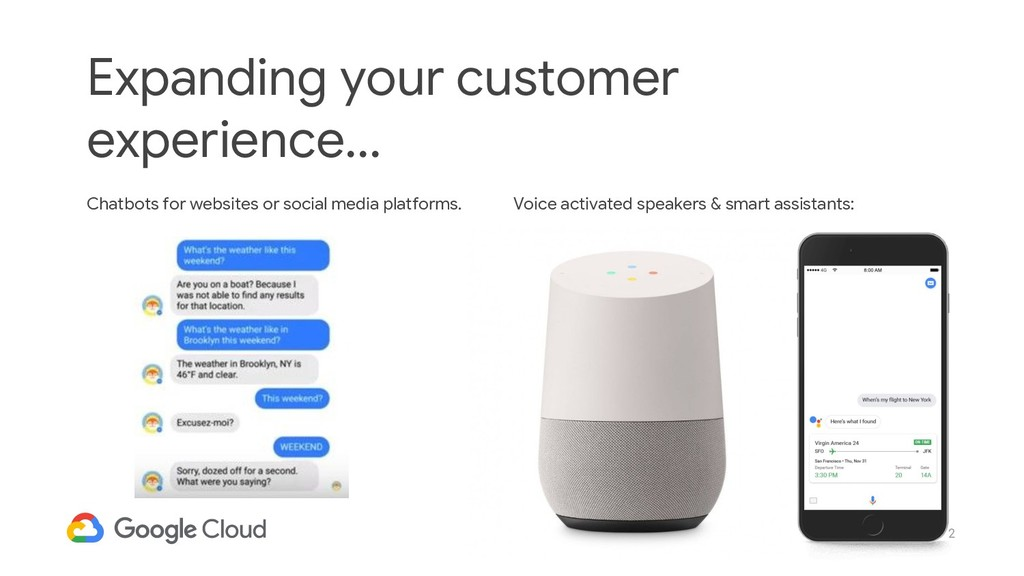 2 Expanding your customer experience... Chatbot...