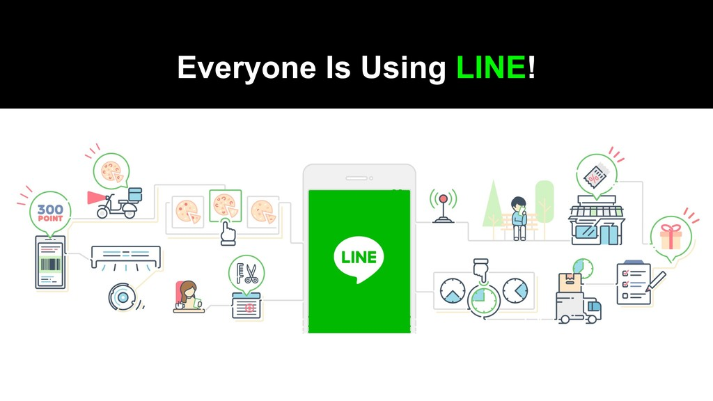 Everyone Is Using LINE!
