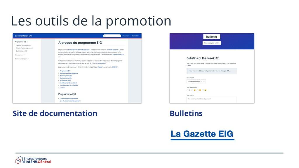 Les outils de la promotion Site de documentatio...