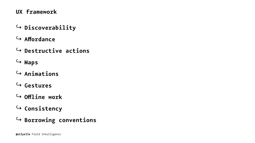 UX framework ↪ Discoverability ↪ Affordance ↪ D...