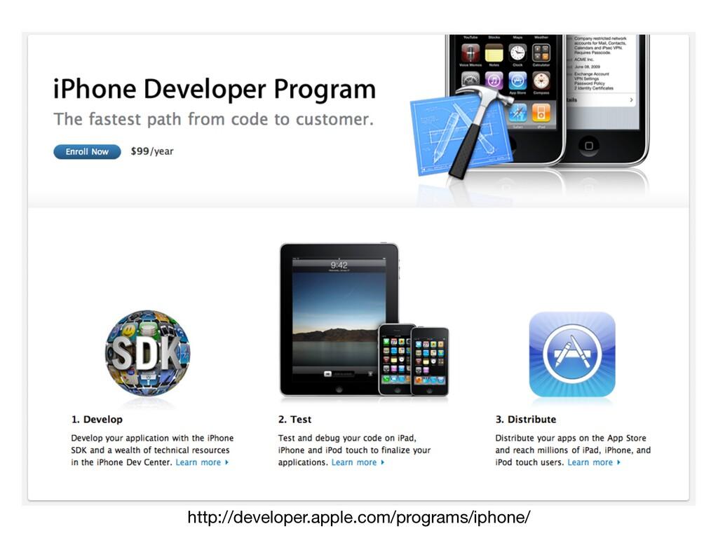http://developer.apple.com/programs/iphone/