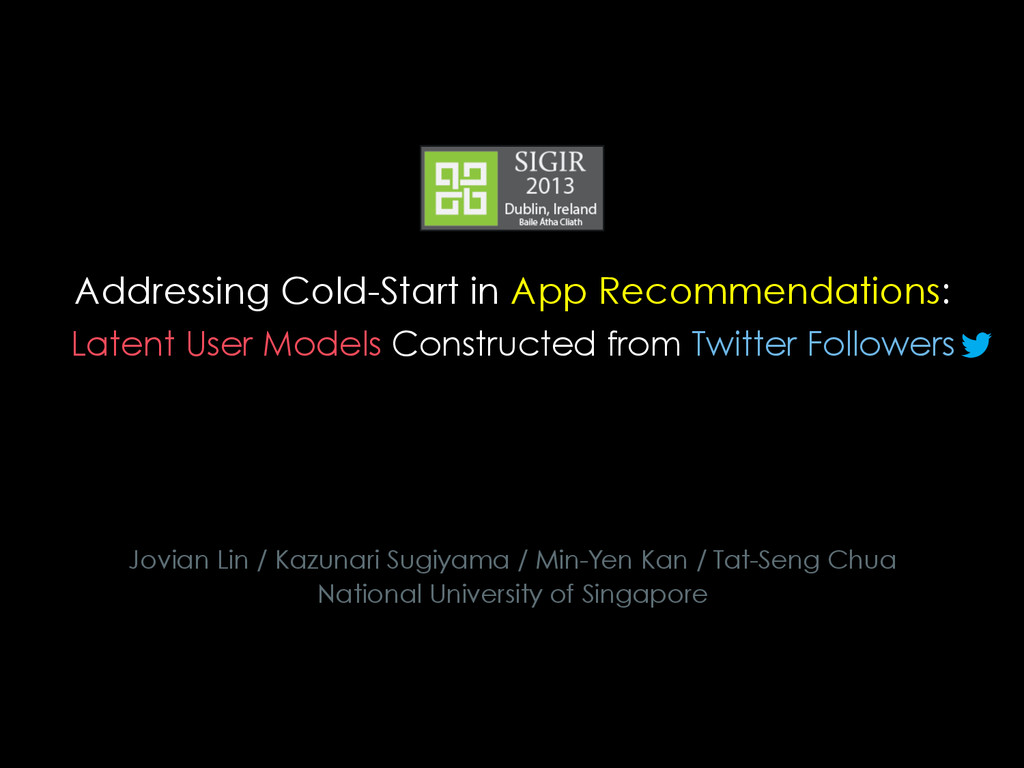 Addressing Cold-Start in App Recommendations: J...