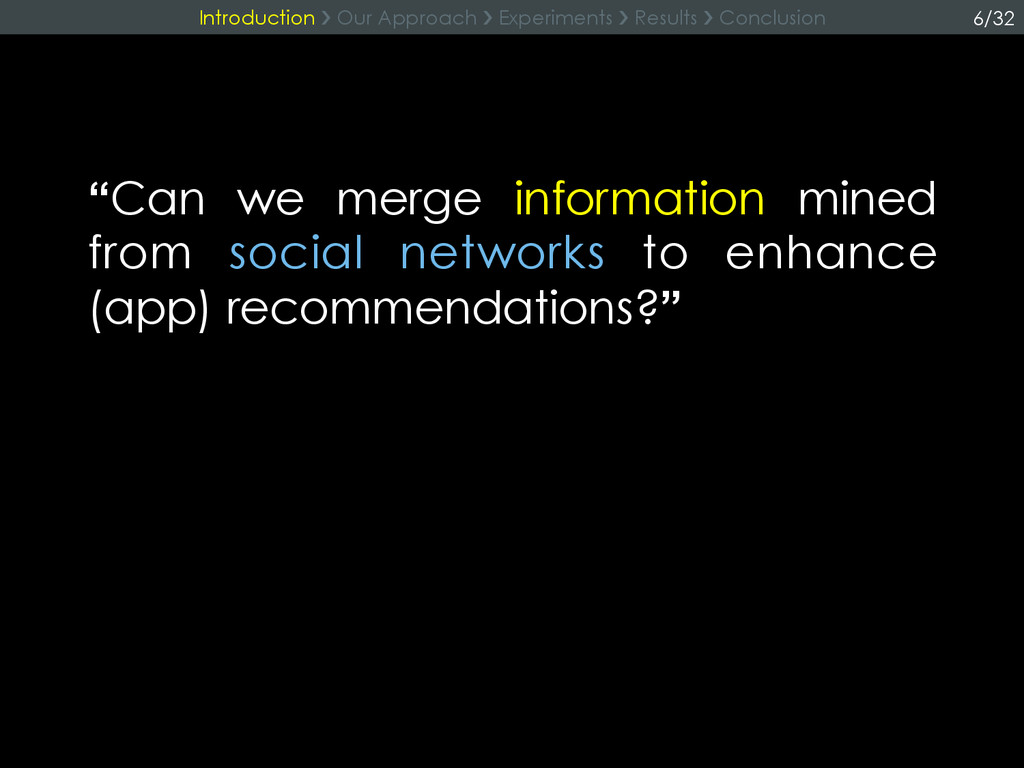 """Can we merge information mined from social net..."