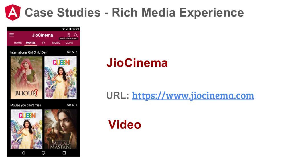 Case Studies - Rich Media Experience JioCinema ...