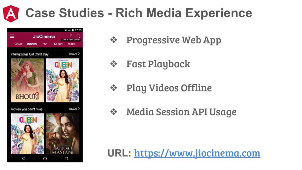 Case Studies - Rich Media Experience URL: https...