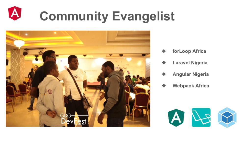 Community Evangelist ❖ forLoop Africa ❖ Laravel...