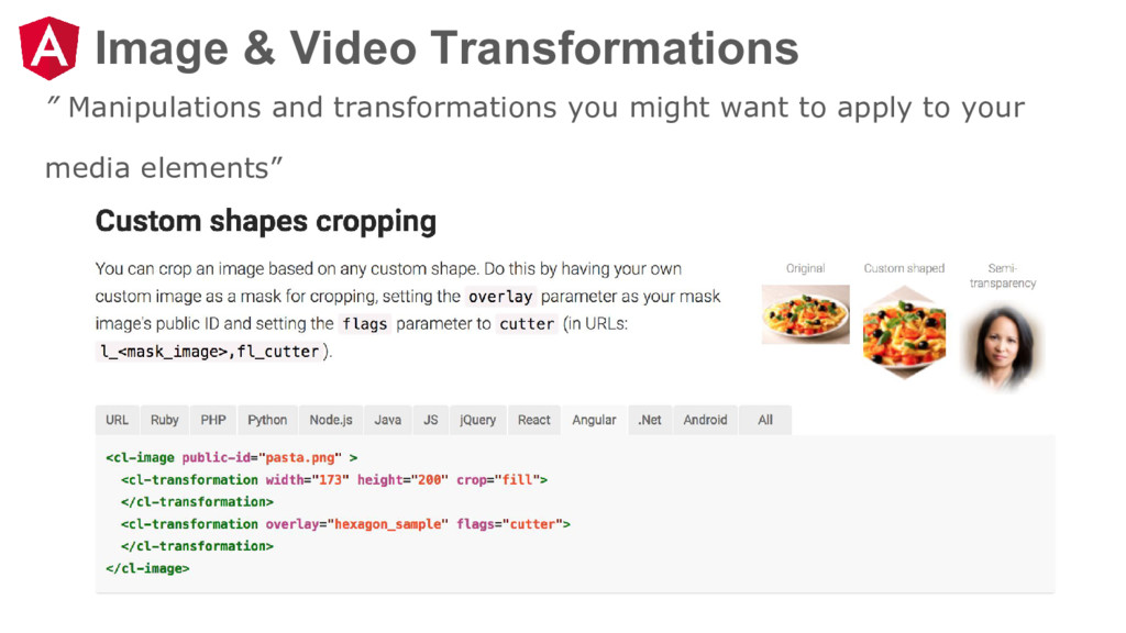 """Image & Video Transformations """" Manipulations a..."""