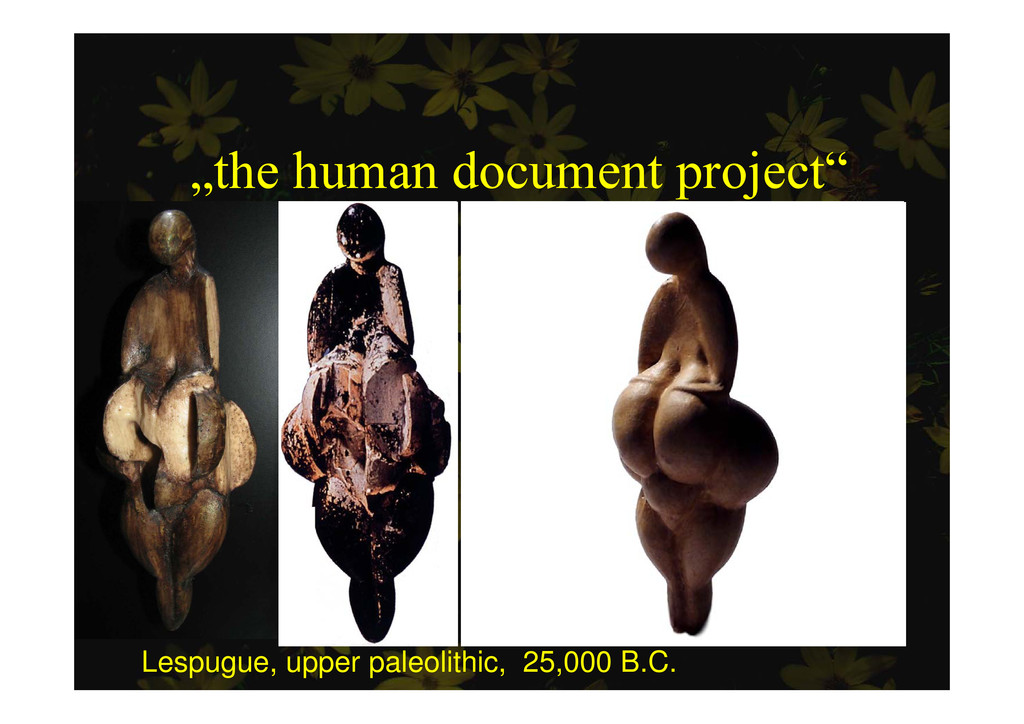 """the human document project"" p j Lespugue, uppe..."