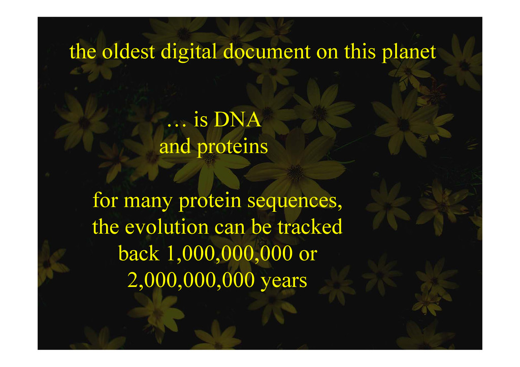 the oldest digital document on this planet e o ...