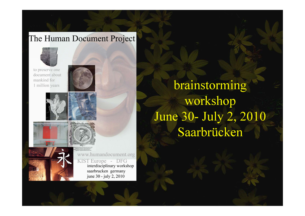 brainstorming brainstorming workshop June 30- J...