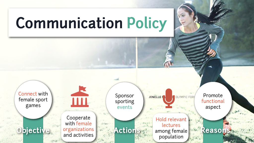 Communication Policy Objective Connect with fem...