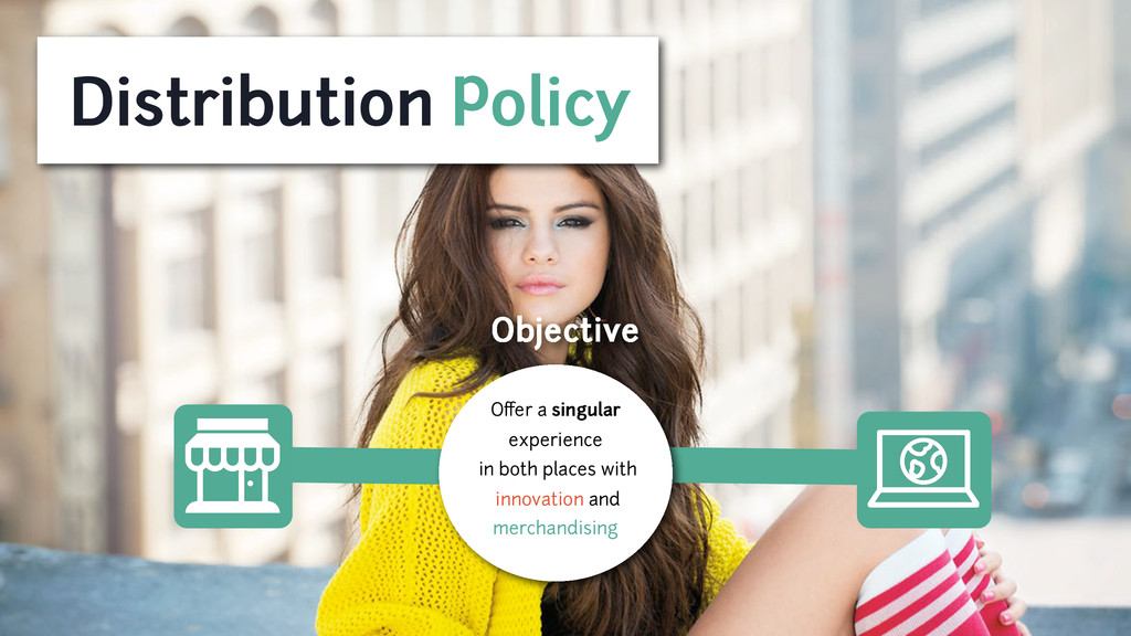 Distribution Policy Objective Offer a singular e...