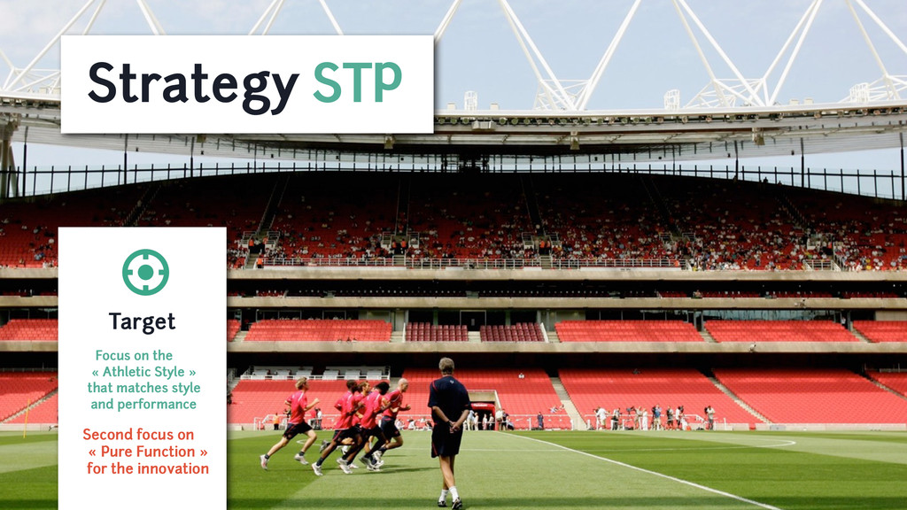 Strategy STP Target Focus on the « Athletic Sty...