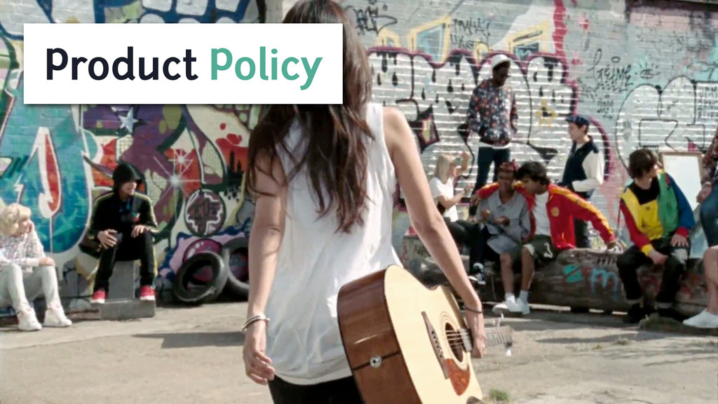 Product Policy