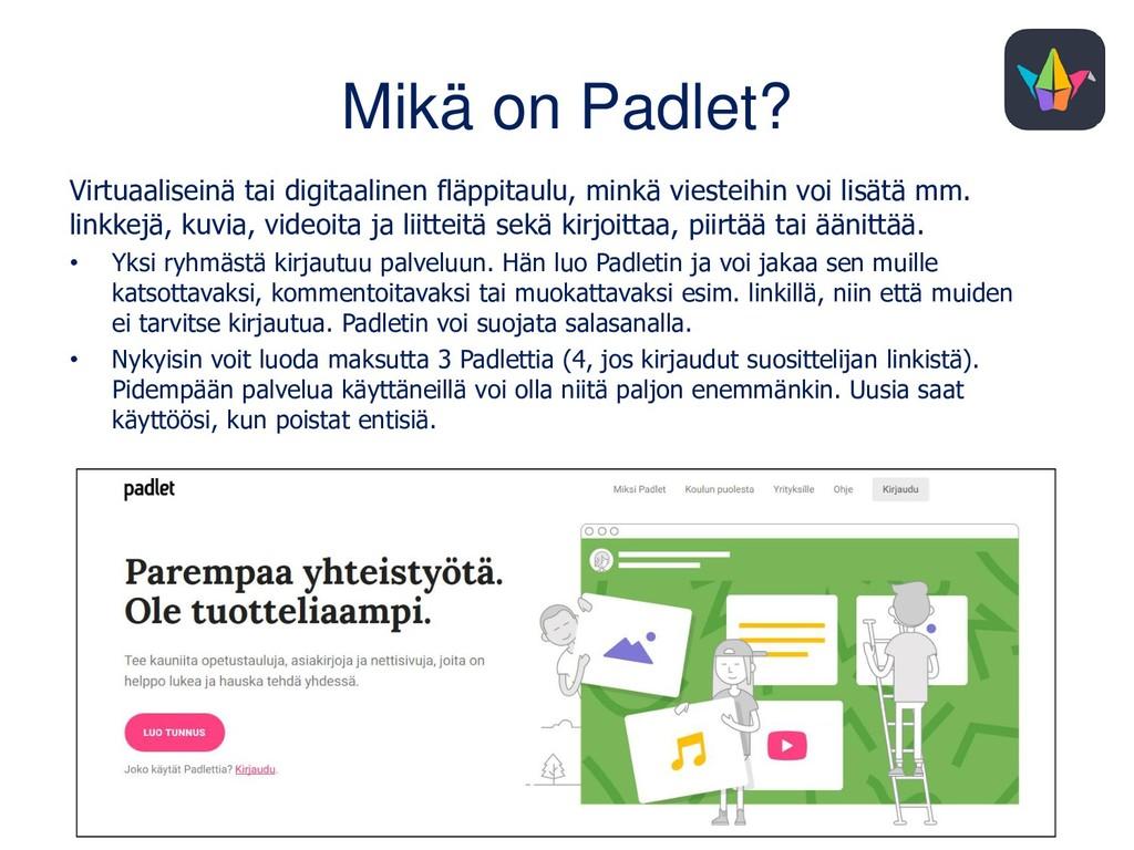 Mikä on Padlet? Virtuaaliseinä tai digitaalinen...