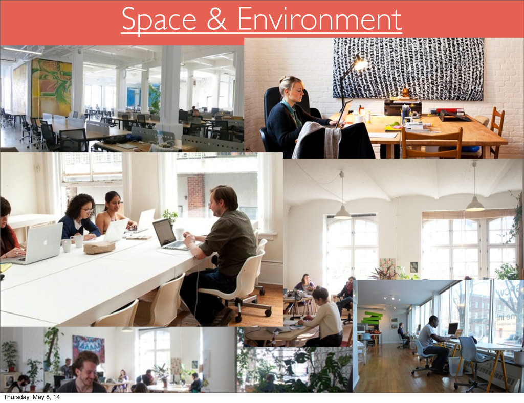 Space & Environment Thursday, May 8, 14