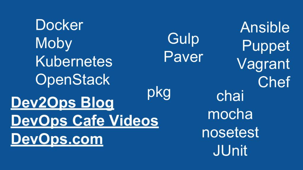 Dev2Ops Blog DevOps Cafe Videos DevOps.com Dock...