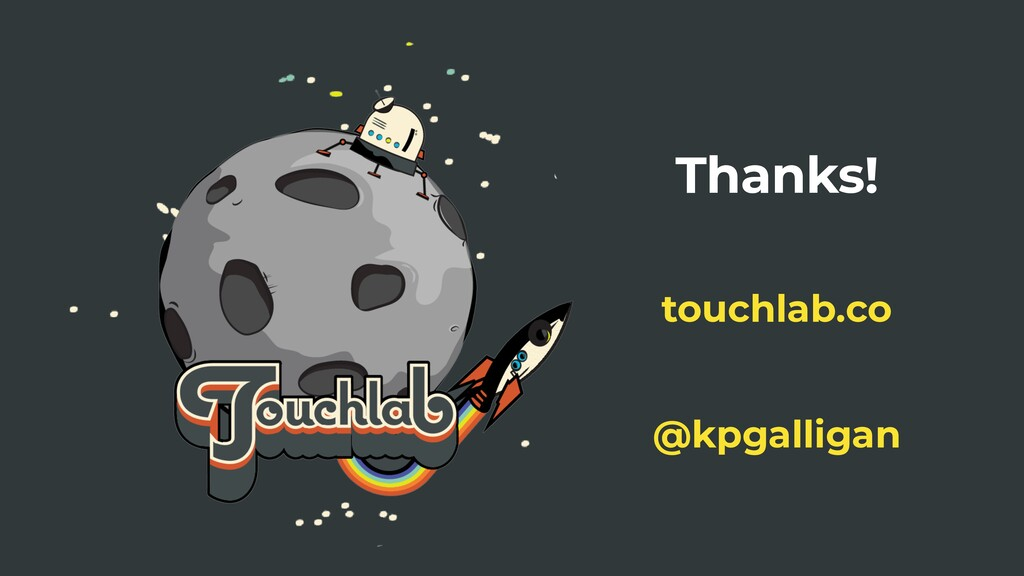 Thanks! @kpgalligan touchlab.co