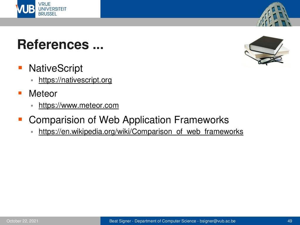 2 December 2005 Next Lecture CSS3 and Responsiv...