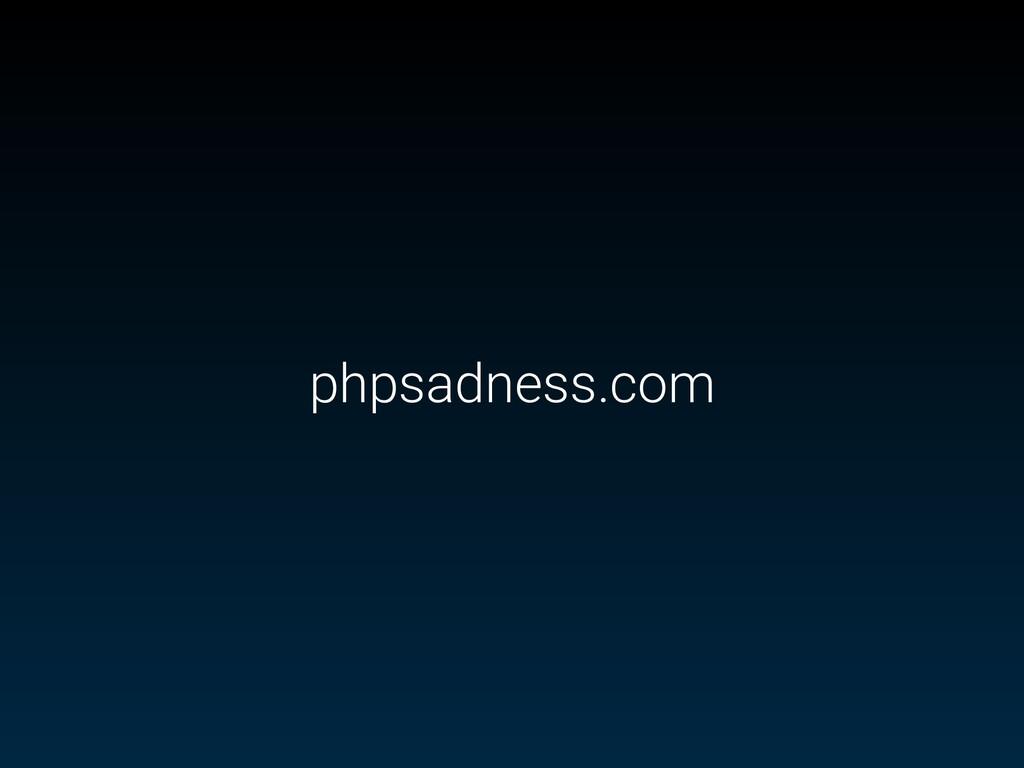 phpsadness.com