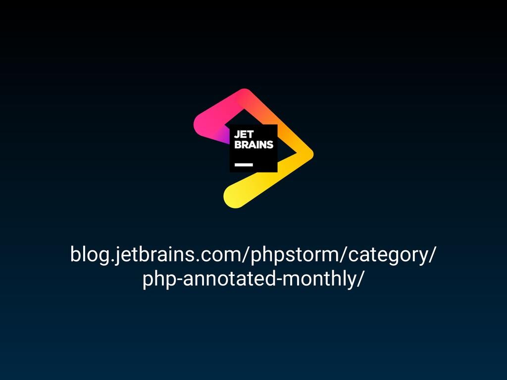 blog.jetbrains.com/phpstorm/category/ php-annot...