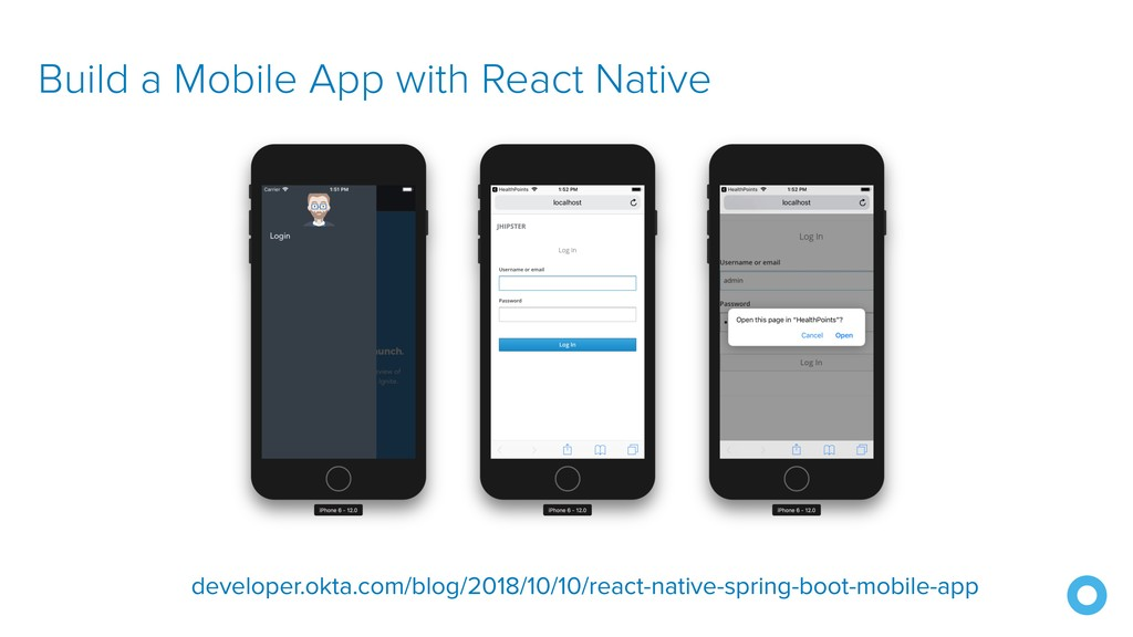 Build a Mobile App with React Native developer....