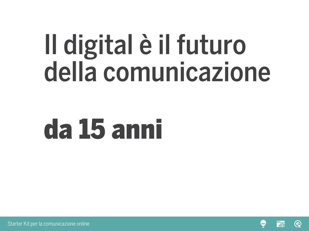 Starter Kit per la comunicazione online Il digi...